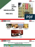 Estrategia Sanitaria de Inmunizaciones - Ministerio de Salud