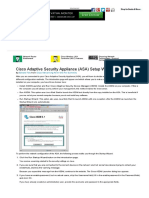 Cisco Adaptive Security Appliance (ASA) Setup Wizard - For Dummies
