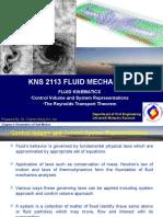 Week 9 Fluid Kinematics