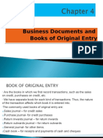 Topic 04_business Doc and Books of Original Entry