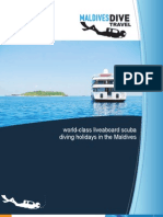 Maldives Diving Brochure