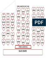 Third Quarter Seat Plan
