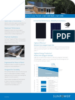 Ds x21 Series 335 345 Residential Solar Panel