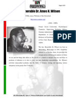 the Honorable Dr Amos N Wilson Publications and Audio Lecture Downloads