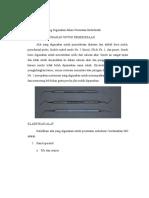 Alat Dan Bahan Yang Digunakan Dalam Perawatan Endodontik