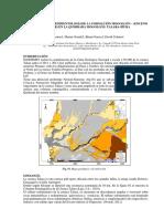 Estratigrafía y Sedimentologíade La Formación Mogollón – (Eoceno Inferior) en La Quebrada Mogollón, Talara-piura