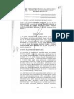Fallo del juzgado 57 de lo civil sobre la demanda por daño moral de Joaquín Vargas contra Carmen Aristegui