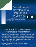 presentation procedures