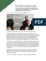 Oratoria en Uruguay (Cursos Privados y Costos)