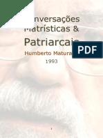 Maturana Humberto 1993 Conversas Matrísticas e Patriarcais