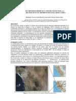 Aplicación de Métodos Sísmicos y Geotécnicos Para La