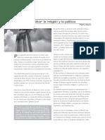 E_024_Debilitar La Religion y La Politica_Pedro Alzuru