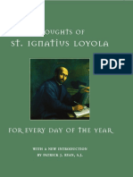 St. Ignatius Loyola Thoughts of St. Ignatius Loyola for Every Day of the Year.pdf