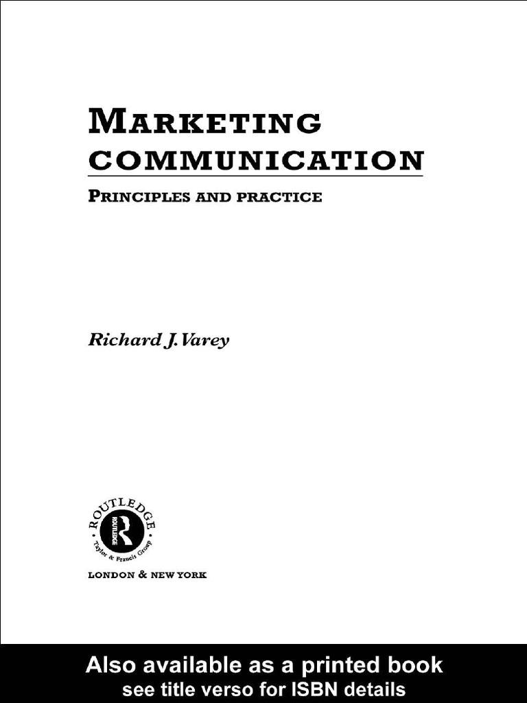Marketing munication Marketing munications