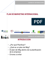 Plan de Mkg Internacional IMH