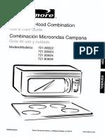 Kenmore Microwave Rangehood l0522850