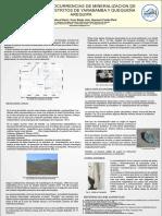 Estudio de Ocurrencias de Mineralizacion De