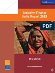 Inclusive Finance India Report 2015