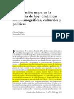 BARBARY Y URREA La Poblacion Negra en La Colombia de Hoy