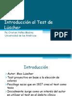Clase Introducci n Al Test de L Scher (1)