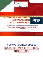 1 Alcances y Objetivos Inst. Electricas - Copia
