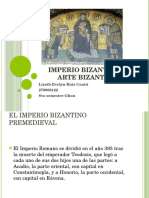 Imperio Bizantino y Arte Bizantino