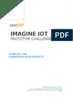 OpenSAP IoT PrototypeChallenge EmptyTemplate