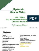 Presentacion Objetos de Base de Datos
