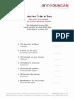 Auction Order 9 Nov 2016
