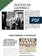 Genocidio en Guatemala Trabajo Práctico