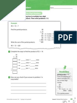 i-ready multiply whole numbers | Physics & Mathematics