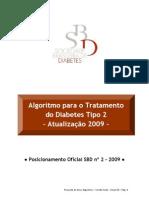 Algoritmo Para o Tratamento Do Diabetes Tipo2 Atualizacao 2009 Versaofinal