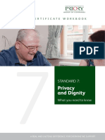 Privacy and Dignity Workbook 2015