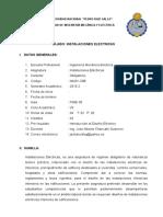 Silabo Instalaciones Electricas Por Competencias Ciclo 2016-II (1)