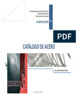 Catálogo de Acero