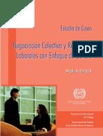 Negociación Colectiva y Relaciones Laborales Con Enfoque de Género