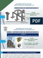 8 Construcc II UIII Predimensionamiento Elem Estructurales