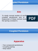Couple Pendulum