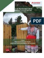 COPEME I Foro Finanzas Verdes Noviembre  2016