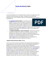 Fuentes del Derecho Ingles.