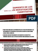 Procesamiento de Los Datos en Investigación Cuantitativa