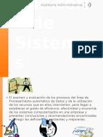 Auditoria de Sistemas Presentación 1