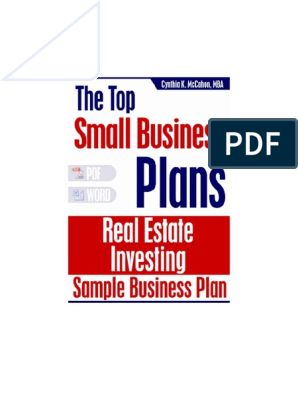 real-estate-investment-business-plan1 pdf | Loan To Value