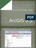Petunjuk Install ArcGIS 9.3