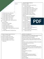 Estatutos y Personaría Jurídica Indice de Estatutos y Prsonaria Juridicas de La
