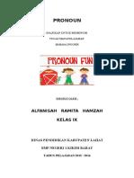 Alfansah Pronoun