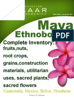 1 Ethnobotany Maya Plant List Annual Report 2011 Catalog 5th Edition Nov 2011