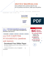 100 TOP COMPUTER FUNDAMENTAL Questions and Answers COMPUTER FUNDAMENTAL Questions and Answers.pdf