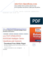 100 TOP OPERATING SYSTEMS Multiple Choice Questions and Answers OPERATING SYSTEMS Questions and Answers.pdf