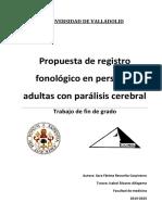 Paper Registro Fonológico en PC Adultos